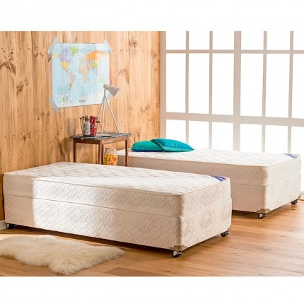 cama americanas flex plaza