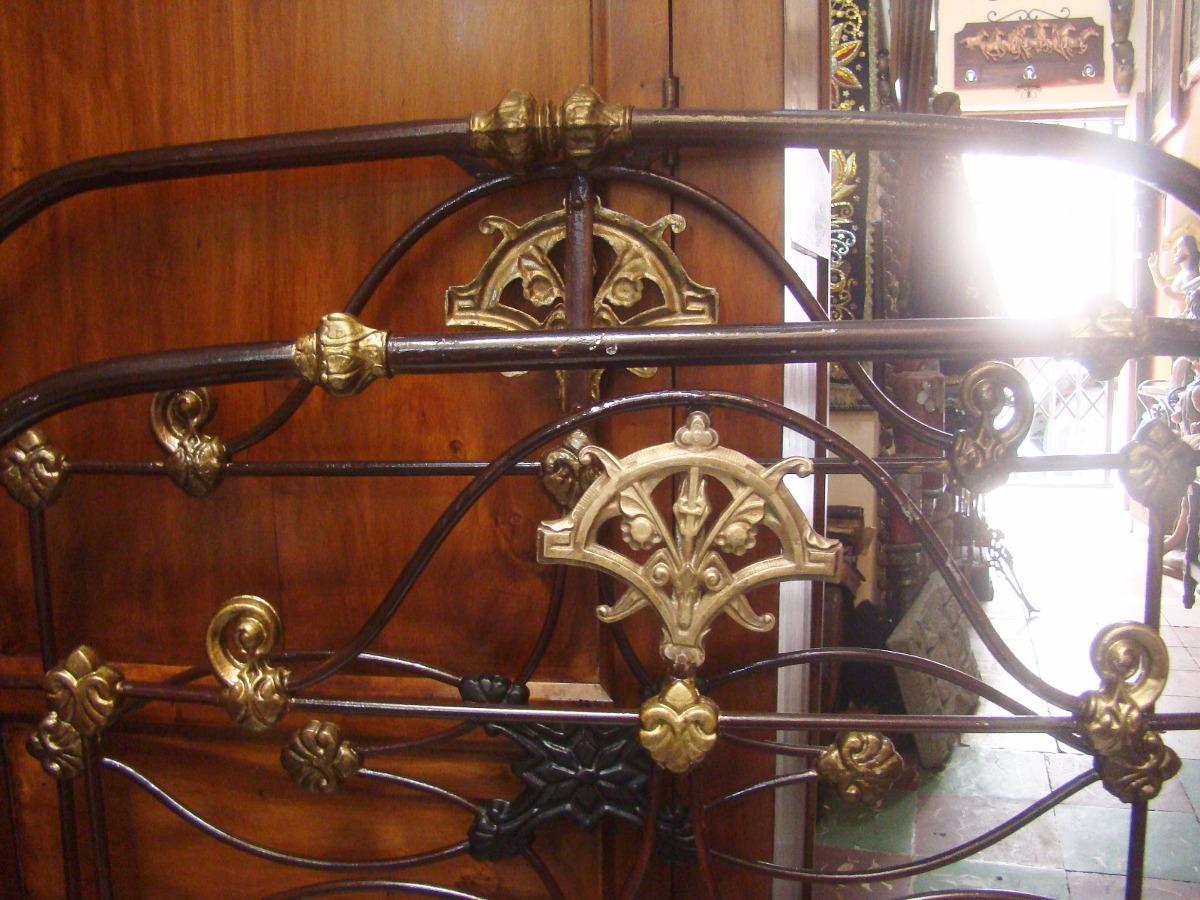 Cama antigua de hierro u s 180 00 en mercado libre - Camas antiguas de hierro ...