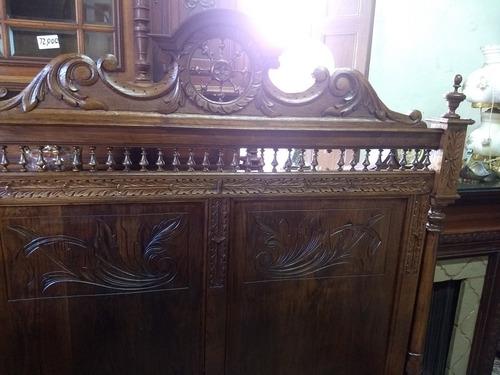 cama antigua holandesa