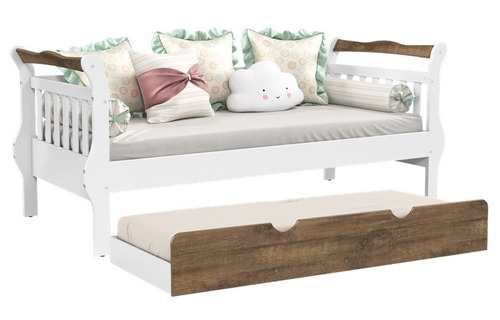 cama baba sofa cama bambini c/ auxiliar mdf grade matic
