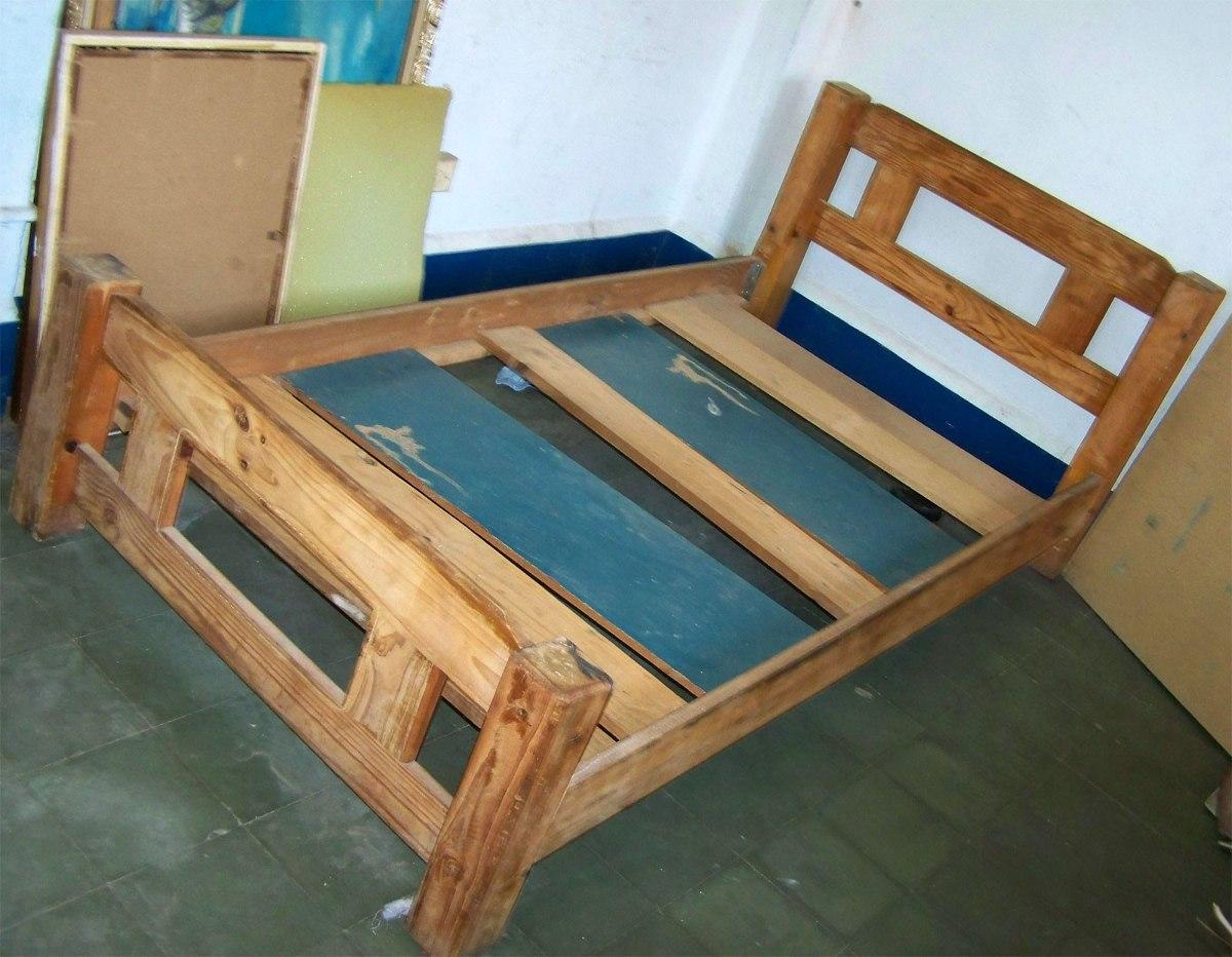 Cama Bastidor Individual Dormitorio - Bs. 7.000,00 en Mercado Libre