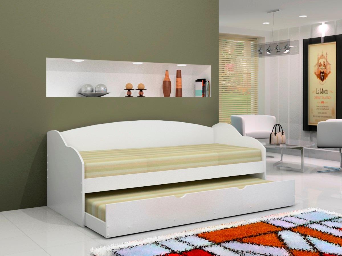 Cama bicama solteiro estilo sofa sem colch o mariane r for Sofa cama 99 euros