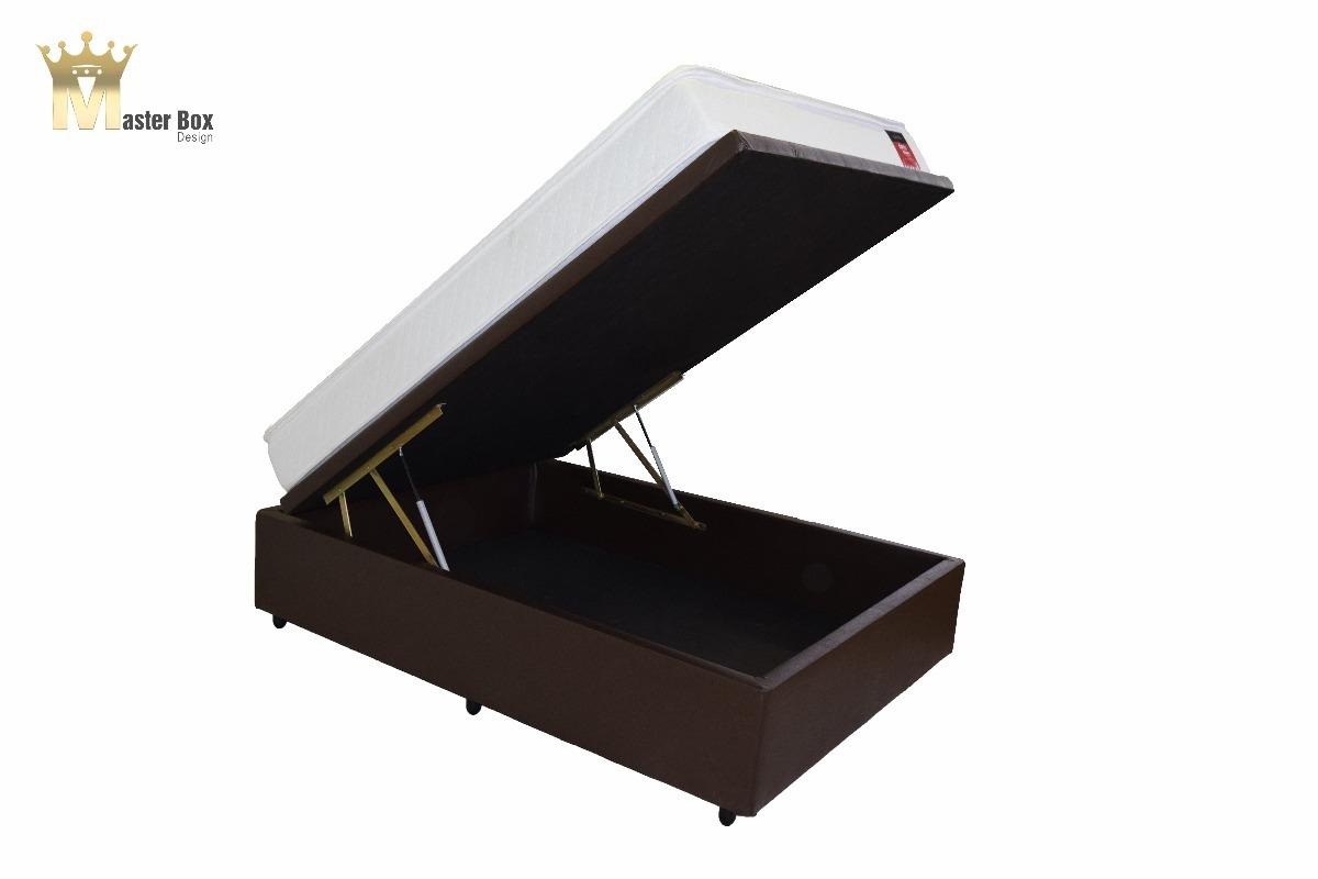 3829eafb32 cama box baú 110x188 premium corino ou sued. Carregando zoom.