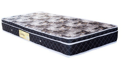 cama box baú solteiro com  colchão 0,88 x 1,88