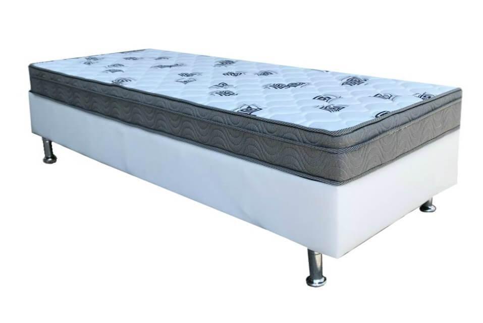 98af5c186 cama box+colchão solteiro ortobom espuma light d45 88x188x40. Carregando  zoom.