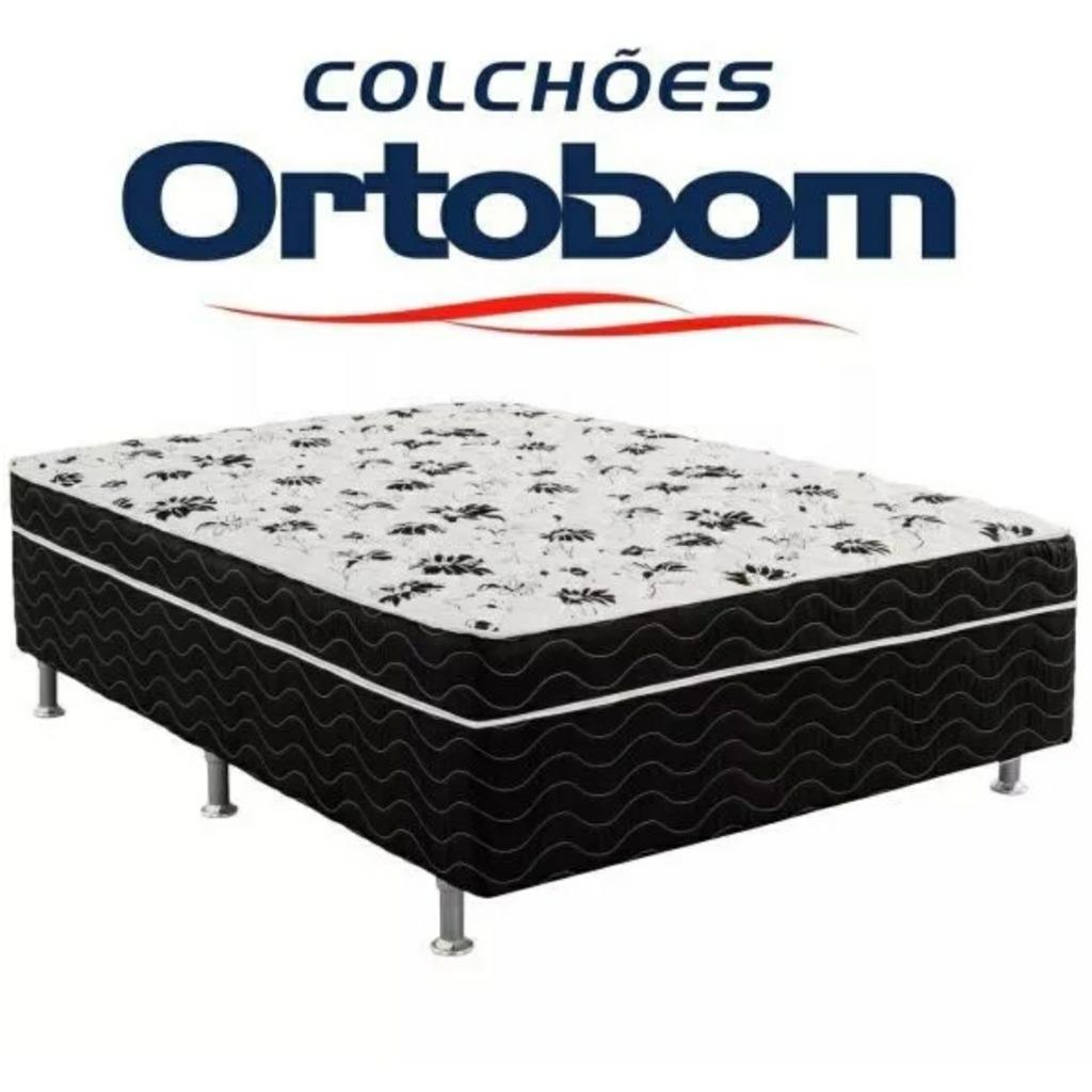 9207ffe09 cama box conjugada casal ortobom union ortopedica 1.38x1.88. Carregando zoom .