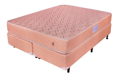 cama box king profissional hotel molas 193x203cm