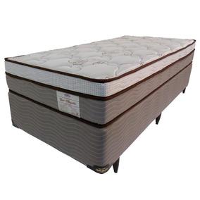 03211a7018 Cama Box Solteiro Molas Ensacadas - Conjuntos de Box e Colchão no Mercado  Livre Brasil