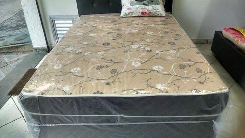 cama box solteirão (medidas especiais) ortopédico 1,28 x 1,8