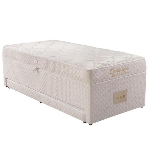 cama box solteiro molas