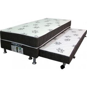 372df8c265 Box Solteiro Com Cama Auxiliar Anjos - Todo para o seu Quarto no Mercado  Livre Brasil