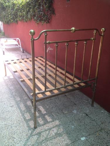 cama bronce 1 plaza divina! zona oeste