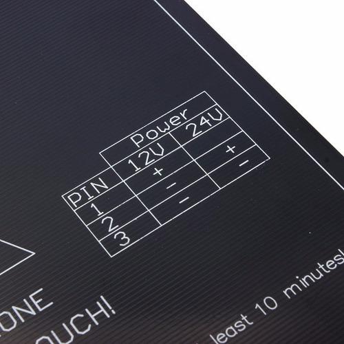 cama caliente impresora