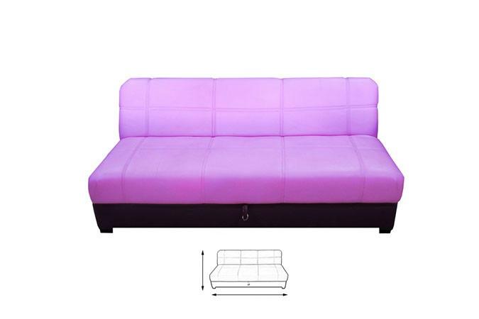 Sof cama futton converti cama puff minimalista moderno iber 3 en mercado libre - Sofa cama minimalista ...