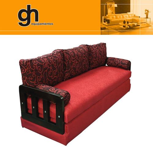 Sill n bycama sof cama cama 1 plaza cama 2 plazas gh for Sofa cama plaza y media precio