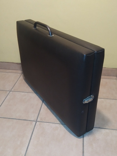 cama camilla de masajes plegable maletin masajista