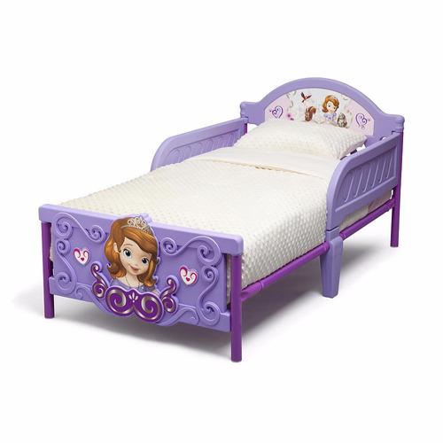 Cama camita infantil 3d ni a princesita princesa sofia - Cama princesa nina ...