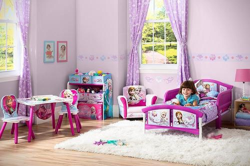 cama camita infantil delta disney frozen niñas envio gratis