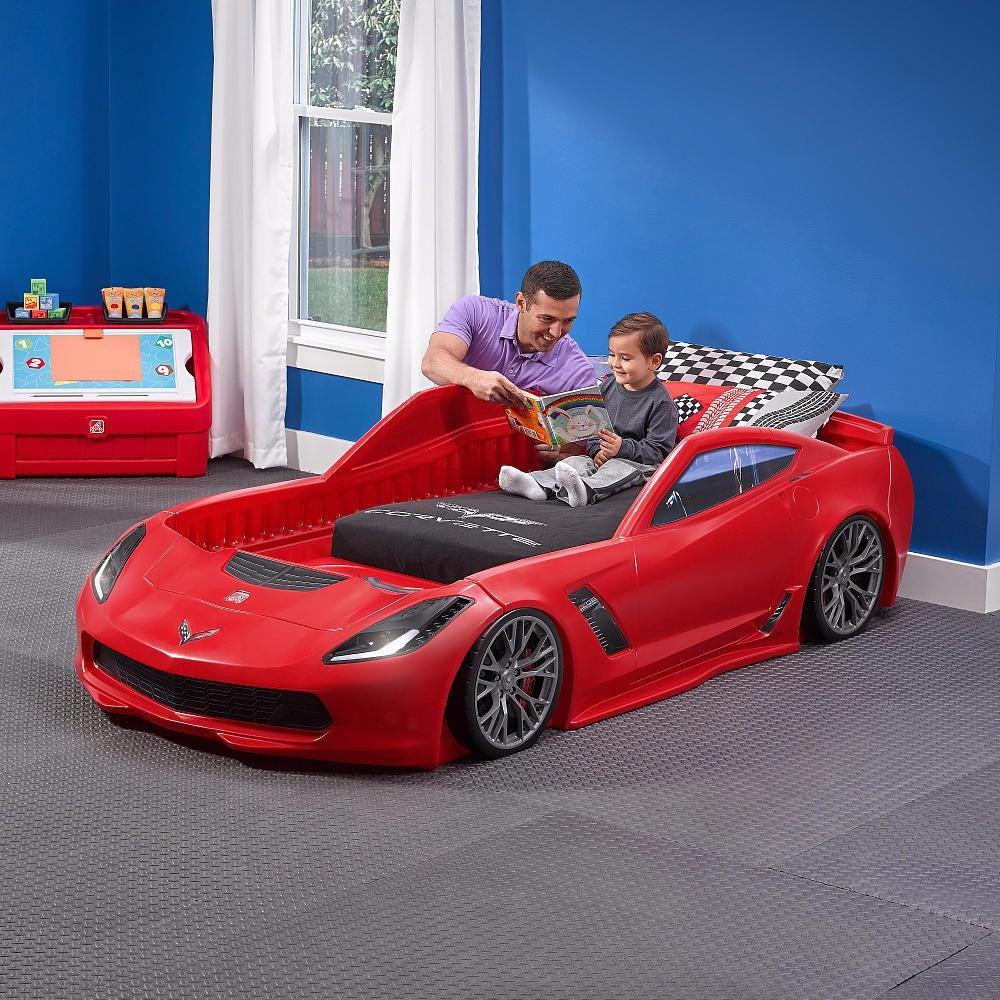 Cama Camita Infantil En Forma De Auto Carro Deportivo