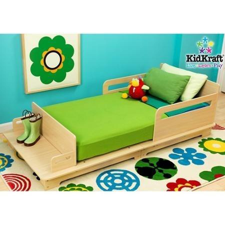 cama camita infantil  madera importada individual