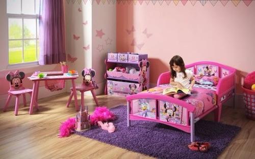 cama camita infantil minnie mouse niña