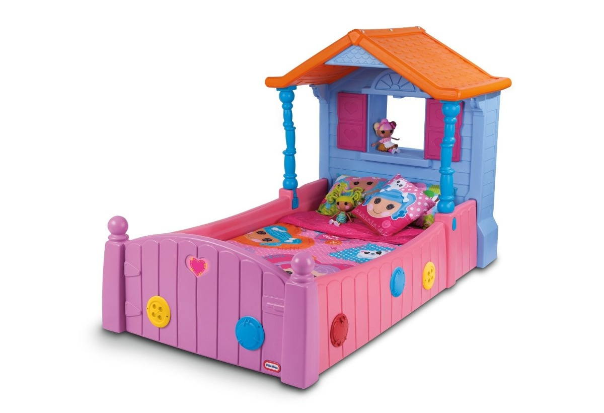 Cama Camita Lalaloopsy Infantil Individual Little Tikes Vv4  # Muebles Little Tikes