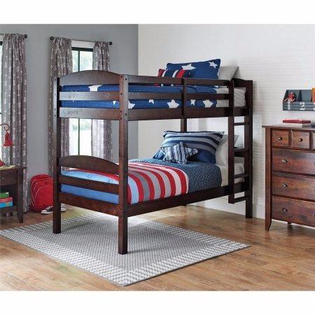 cama camita para niños individual litera  3 en 1  leighton