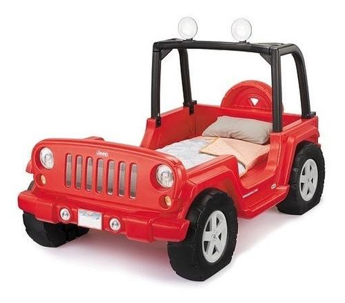 cama carro jeep wrangler- little tikes-importado