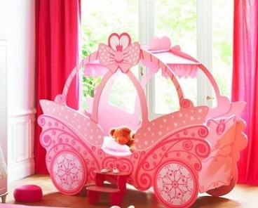 Cama carroza cama ni a cama princesa nueva - Cama nina princesa ...