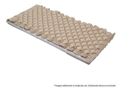 cama catre clínico eléctrico 3 posi. + colchón anti escaras