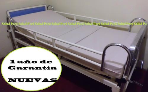 cama clínica + colchón articulado de 4cuerpos. equipo nuevoº