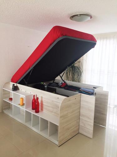 cama closet matrimonial ismar mobiliario