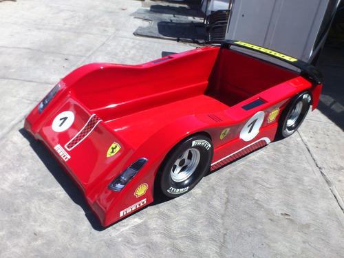cama coche ferrari challenge pirelli 458 colchon individual