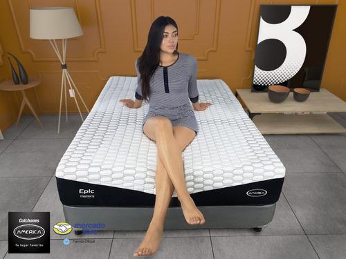 cama colchón con box