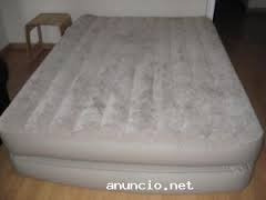 cama colchon queen inflable