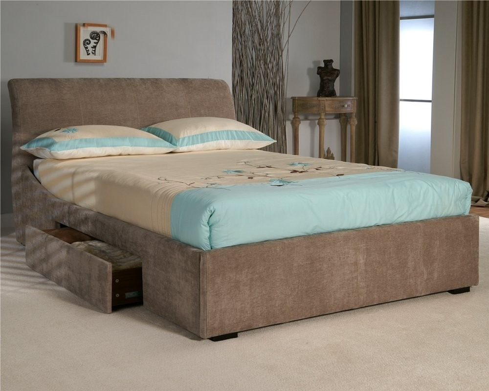 Cama com gavetas casal r em mercado livre - Modelos de cojines para cama ...