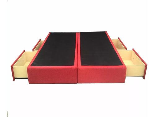 cama con 4 cajones, 2 plazas 140 x 190 cm entrega domicilio