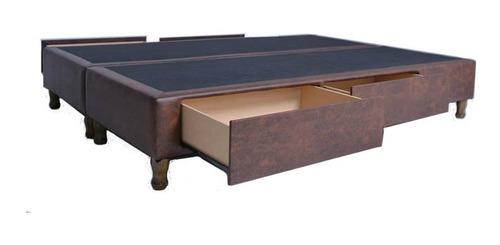 cama con 4 cajones, 2 plazas 160 x 200 cm entrega sin cargo*