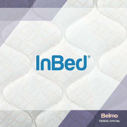 cama con baulera belmo inbed 2 plazas 190x140