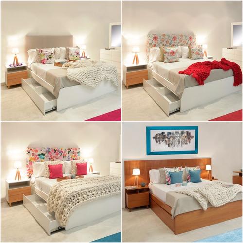 cama con cajones cama box cajonera diseño forbidan muebles