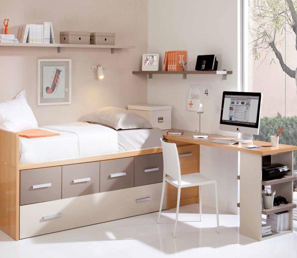 Camas con escritorio debajo fabulous ikea stuva camas for Cajones bajo cama ikea