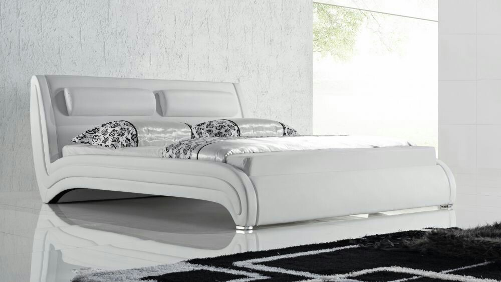 Cama confort tapizadas modernas dise o exclusivos de lujo en mercado libre - Cama de diseno ...