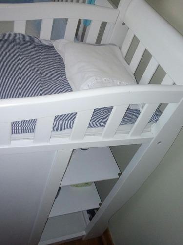 cama cuna + colchon