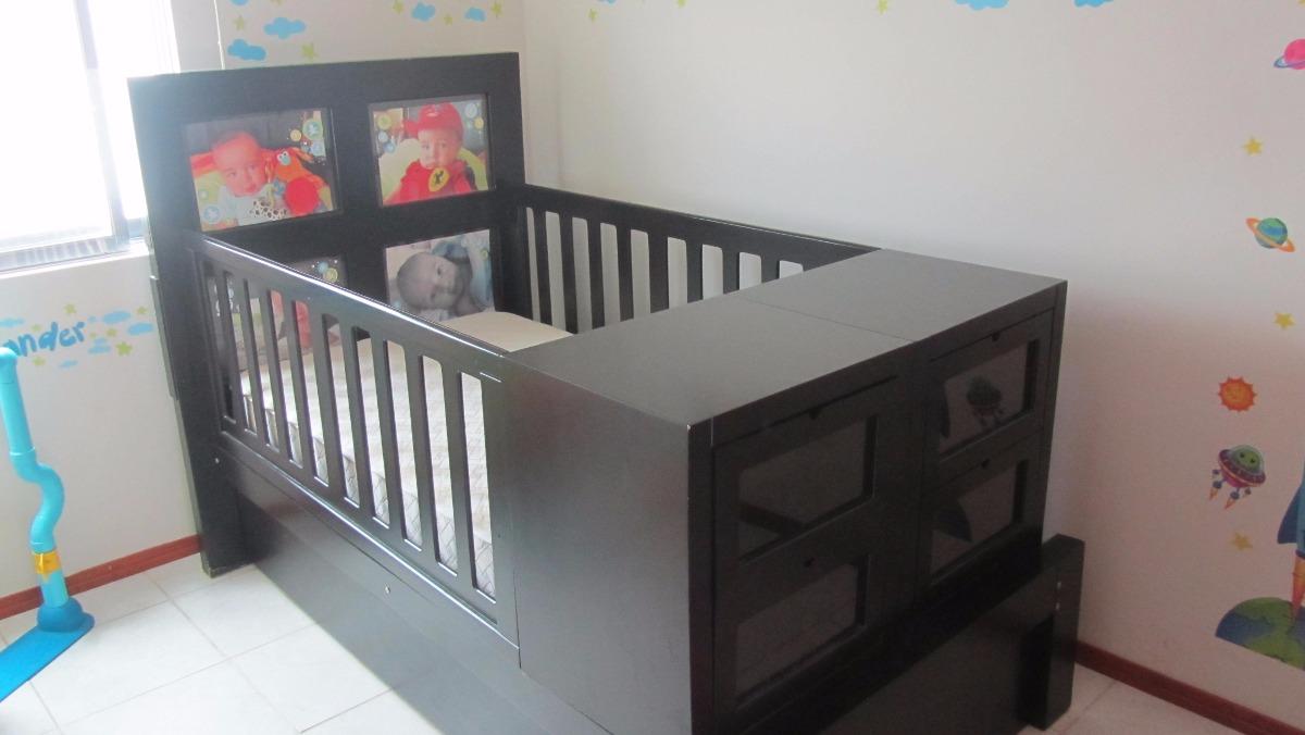 Cama cuna con caj n extra para cama individual 6 900 for Cama individual metalica