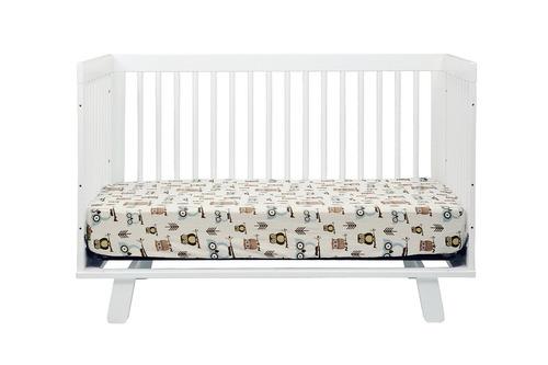 cama cuna convertible 3 en 1 hudson blanca babyletto