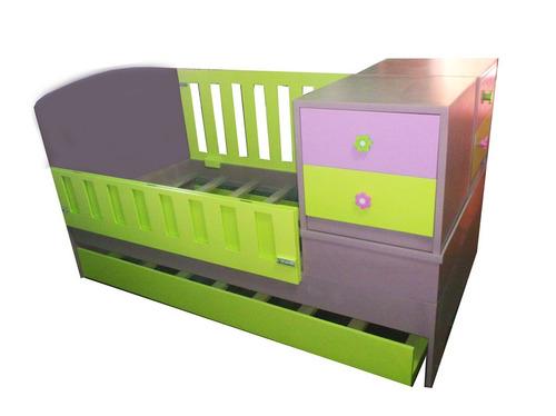cama cuna convertible a cama individual colchon individual