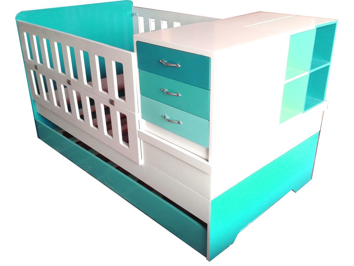 Cama cuna convertible a cama individual colchon individual for Medidas para cama individual