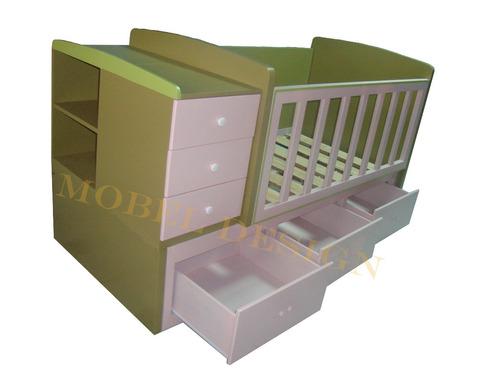cama cuna convertible cn 077