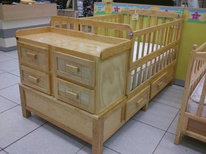 Cama cuna country en madera de pino bs en mercado libre - Cama cuna en madera ...