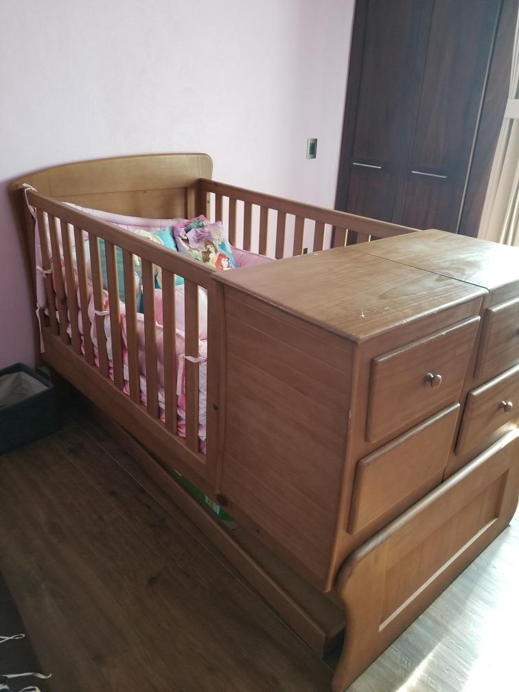 cama cuna de madera 6 en mercado libre